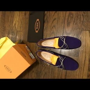 TOD'S 2017 Fall Classic Heaven Loafers NEW W/ Tag